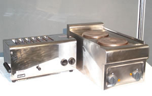 6 Slice Toaster & 2 Ring Boiling