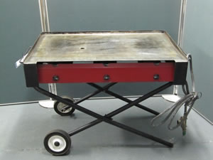 Griddle Gas BBQ