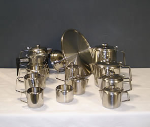 Stainless Steel Coffee & Tea Pots
