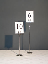 Table Number & Stand
